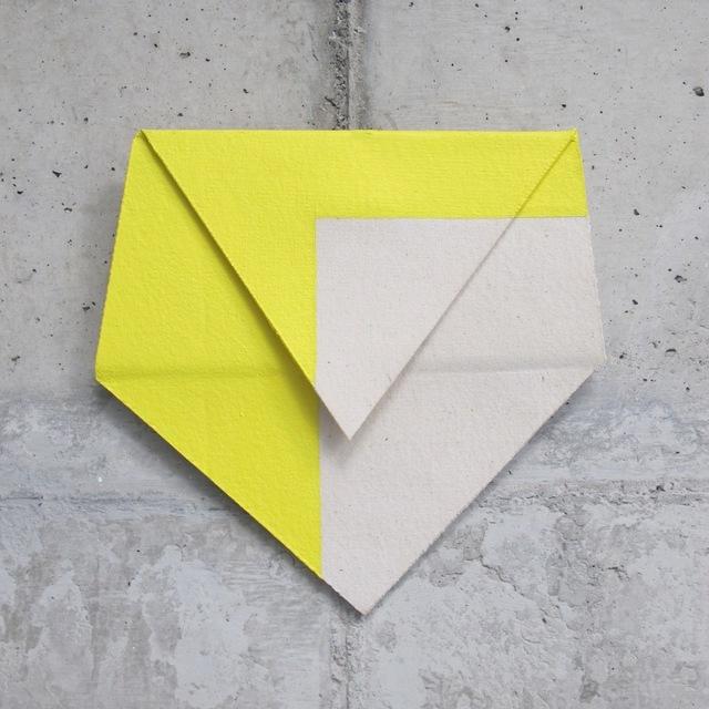 , 'Relevo (amarelo),' 2014, Galeria Leme