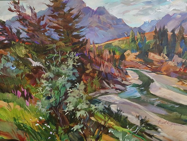 , 'Summer at Pass Creek Canyon,' 2018, Wallace Galleries