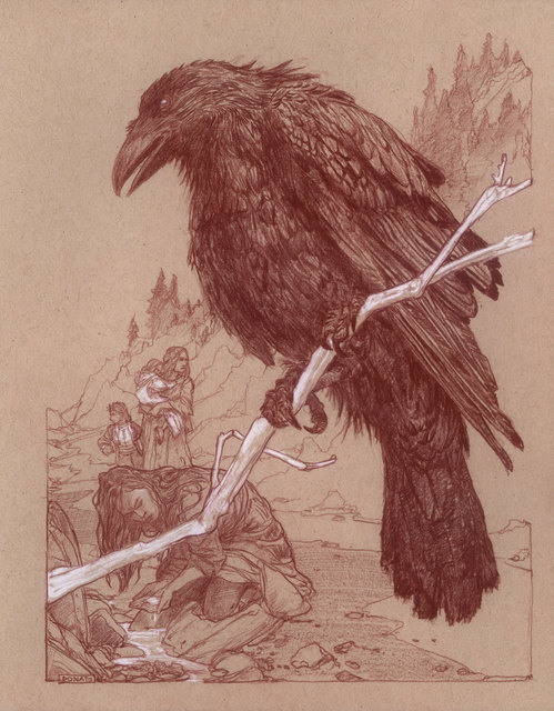 , 'Uprooted - Chapter 25: The Raven,' 2019, IX Gallery