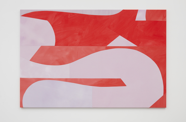, 'Reclining Red and Lilac ,' 2019, Simon Lee Gallery