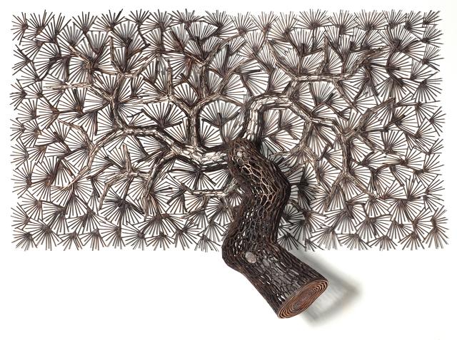 , 'Pine Tree 2016-1,' 2016, Opera Gallery