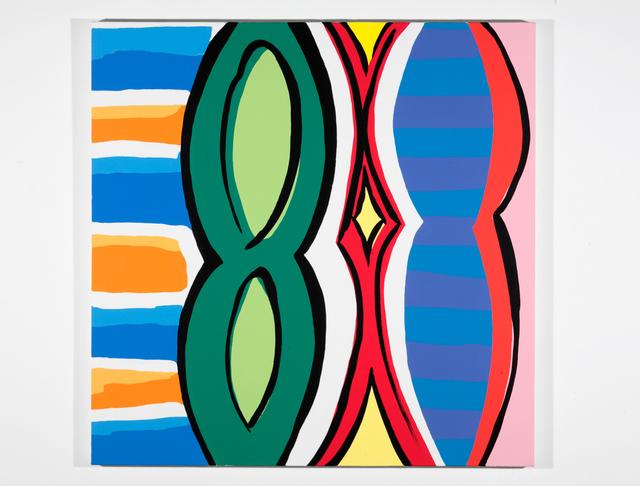 , 'Woman with Mirror. (Canvas #6),' 2007, Rosamund Felsen Gallery