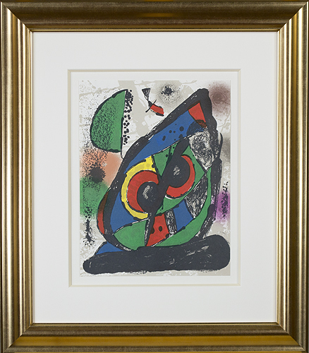 """, 'Lithographie Originale I from """"Miro Lithographs IV, Maeght Publisher"""",' 1981, David Barnett Gallery"""