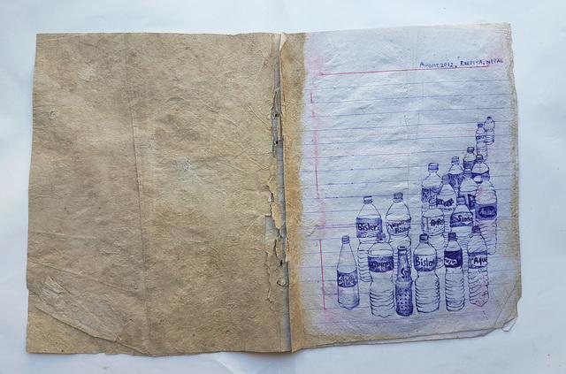 , 'Nepal Diary 1,' 2012, Powen Gallery