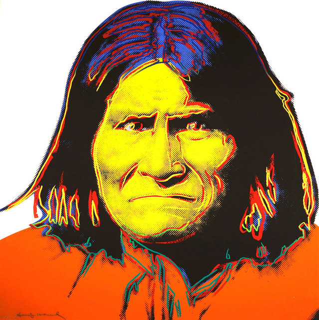 Andy Warhol, 'Geronimo (FS II.384)', 1986, Revolver Gallery