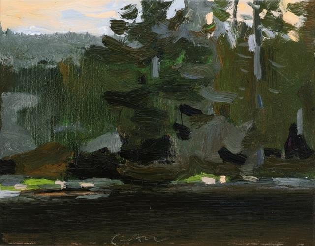 , 'Black River II,' 2019, Tayloe Piggott Gallery
