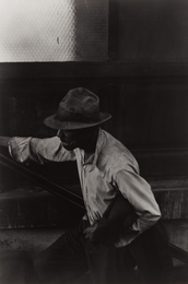 Roy DeCarava, 'Man Coming Up Subway Stairs,' 1952, Phillips: The Odyssey of Collecting