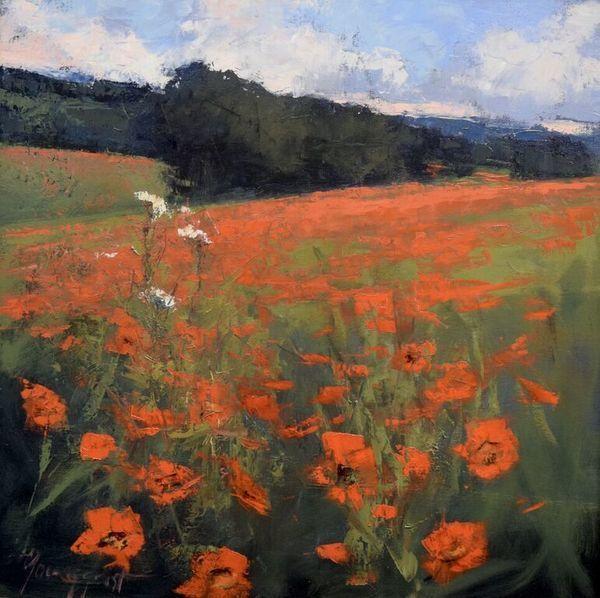 ", '""Poppies"",' 2017, Bonner David Galleries"