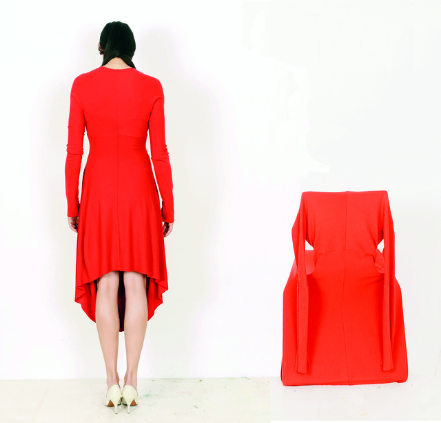 , 'chair dress,' 2014, Galerie Michaela Stock