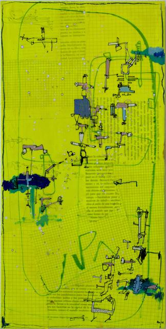 , 'Caligrafía 5,' 2016, Galeria Casa Cuadrada