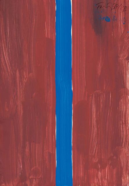 , 'Sans titre,' 1987, Galerie Lelong & Co.