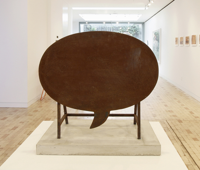 , 'Empty Words,' 2009-2010, TOTH GALLERY