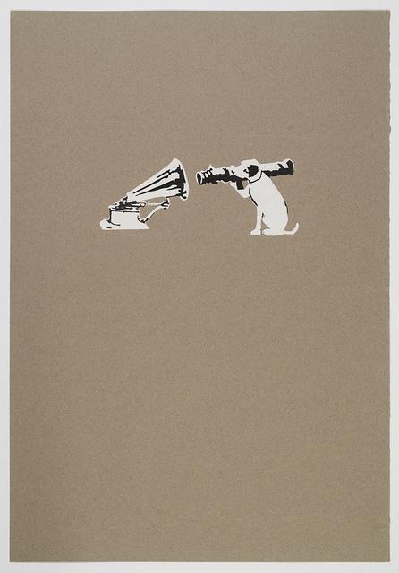 Banksy, 'HMV Dog', 2002, Artificial Gallery