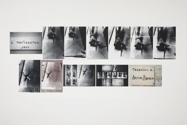 , '6 movimentos,' 1974, Galeria Millan