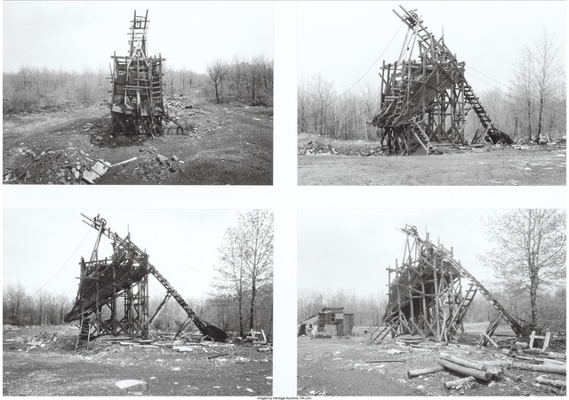 Bernd and Hilla Becher, 'Coal Tipping, Goodspring, Pennsylvania', 1975, Heritage Auctions
