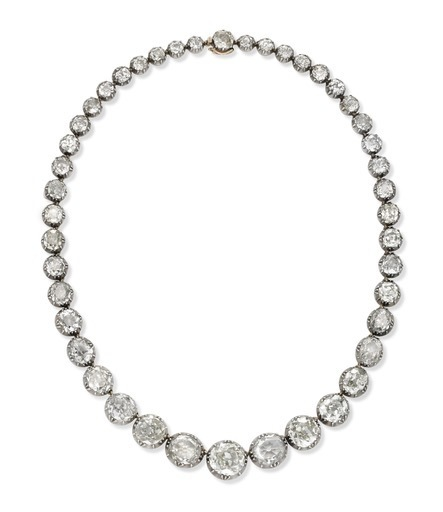 , 'A 19th Century Diamond Riviere Necklace, of approximately 35.00 - 40.00 carats,' ca. 1890, FD Gallery