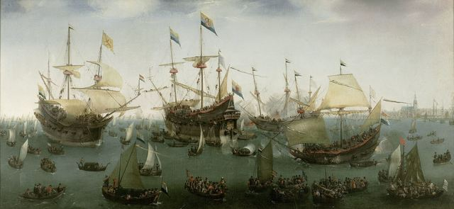 , 'The Return to Amsterdam of the Second Expedition to the East Indies,' 1599, Rijksmuseum
