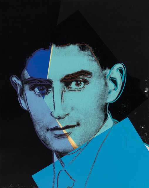 Andy Warhol, 'Franz kafka, from Ten Portraits of Jews of the Twentieth Century', 1980, Print, Screenprint in colors on Lenox Museum Board, Heritage Auctions
