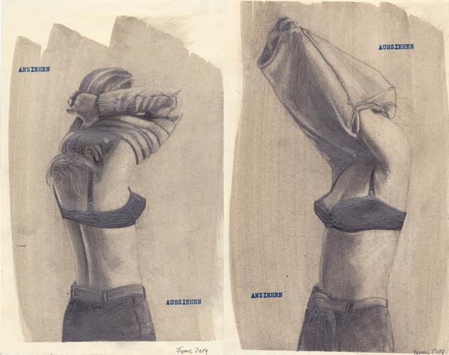 , 'Anziehen/Ausziehen/Anziehen/Ausziehen,' 2014, Martin Kudlek