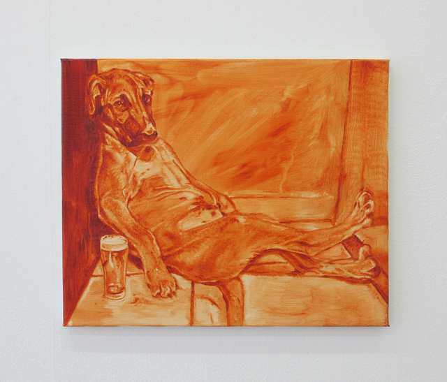 , 'A Dog Walks Into A Bar,' 2016, V1 Gallery