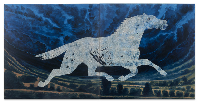 , 'Tlazolteotl as a Horse (Aztec Deity of Midwives),' 2013, Ruiz-Healy Art