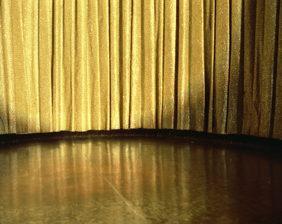 , 'Gold Curtain, Resort in the Poconos, PA,' 2004, Yancey Richardson Gallery