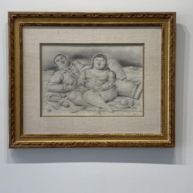 Fernando Botero, 'Picnic', 1998, TRESART