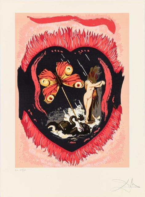 Salvador Dalí, 'Le triomphe, from Triomphe de l'amour', 1978, Heritage Auctions