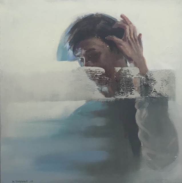 , 'Swipe,' 2018, The Front Gallery