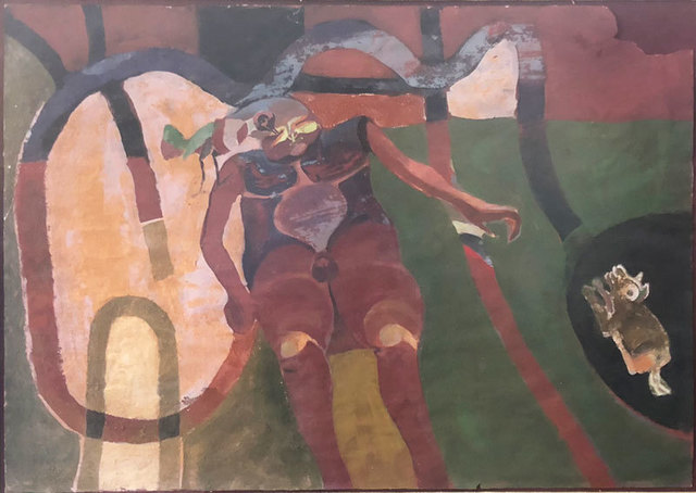 , 'Hombre Soñado,' ca. 1965, GALERÍAS A. CRISTOBAL