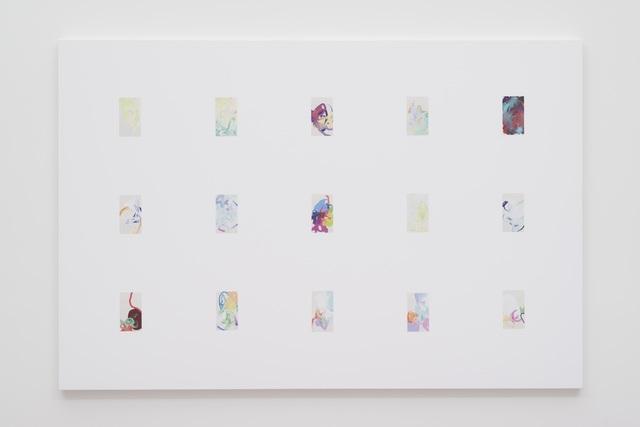, 'iPhone Paintings 1 - 15 First Quarter 2016,' 2017, Gavlak