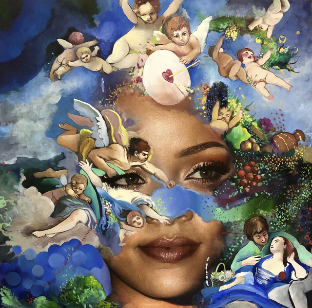 Jeanette Hayes, 'Earth Angel, Rihanna', 2019, The Watermill Center: Benefit Auction 2019