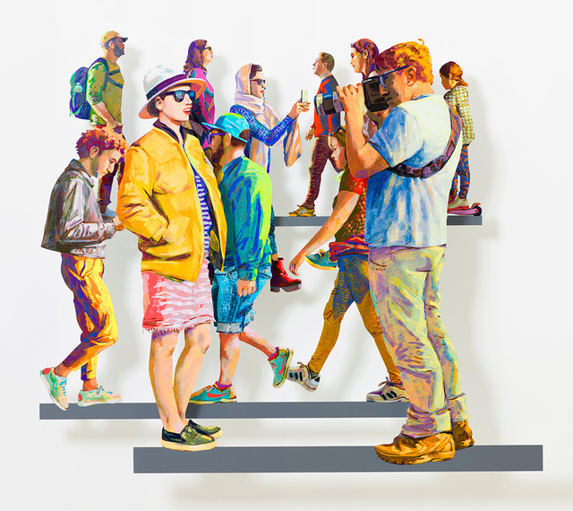 , 'Rothschild Avenue B,' 2019, Galerie Duret