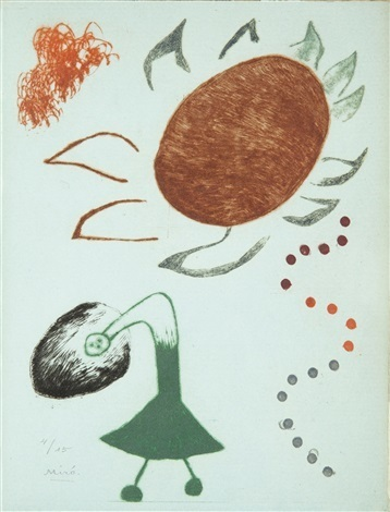 Joan Miró, 'Untitled from Au Paradis des fantomes', 1938, Isselbacher Gallery