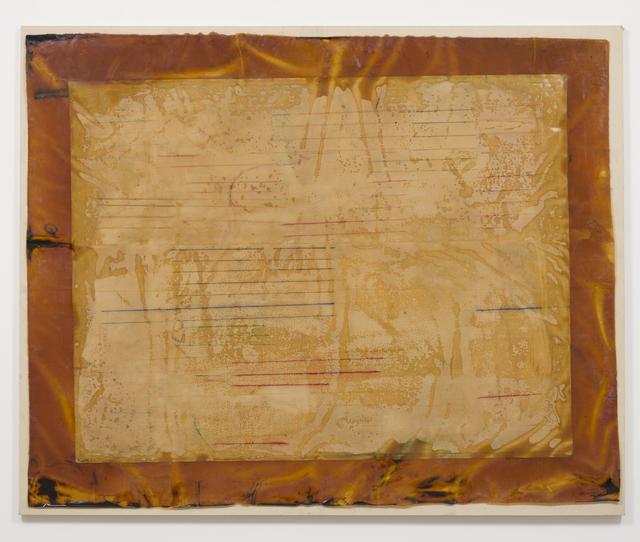 Ed Moses, 'Untitled (Hegeman Series)', 1970, Mixed Media, Acrylic, resin & masking tape on canvas, Albertz Benda