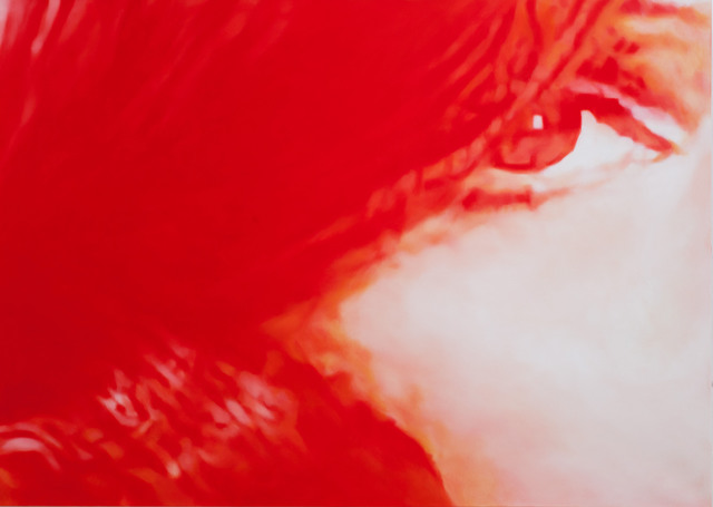 , 'Red Margit 2,' 2013, Alex McQuilkin + Andy Mister