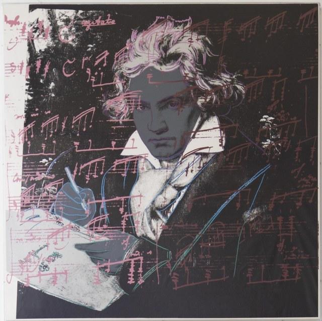Andy Warhol, 'Beethoven (FS II.391)', 1987, Print, Screenprint on Lenox Museum Board, Revolver Gallery