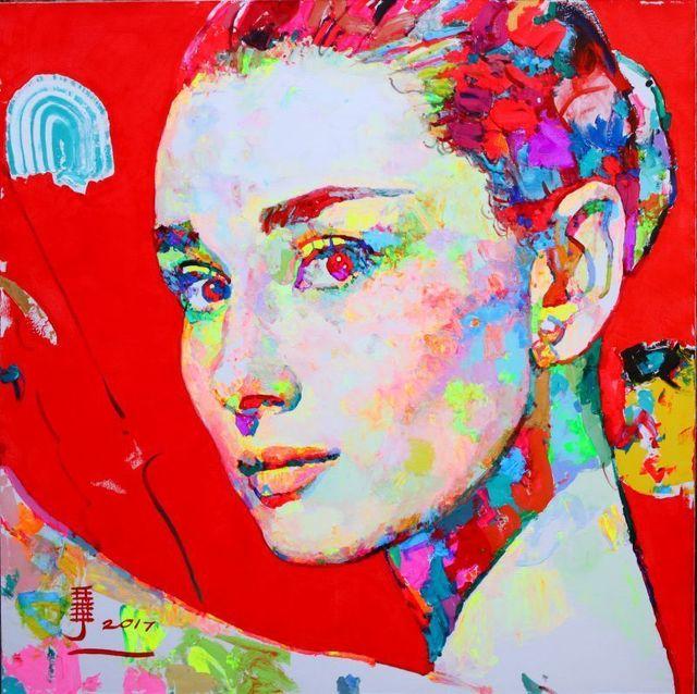 , ' Audrey Hepburn,' 2017, Ode to Art