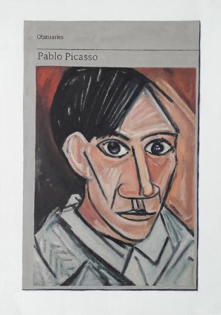 , 'Obituary: Pablo Picasso ,' 2019, Charlie Smith London