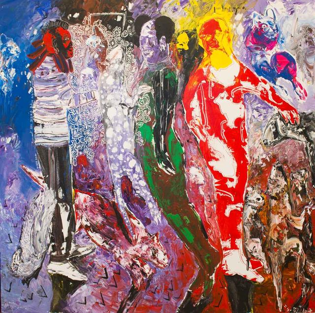 , 'Des Hommes et Des Vies II,' 2017, Sulger Buel Gallery