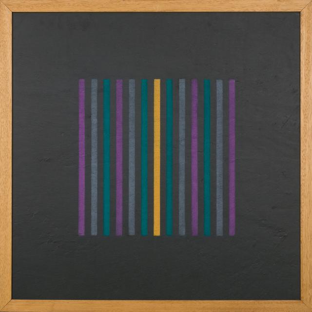 , 'Grammatura di Colore - Supporto Lavagna,' 1974, Mazzoleni