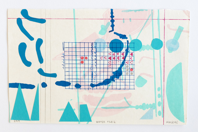 , 'Winter File 4,' 2019, David Krut Projects