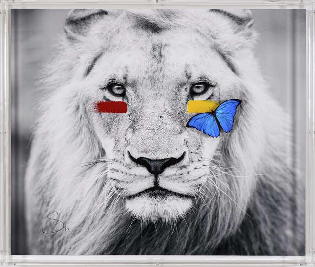 SN, 'Lion ', 2019, Eden Fine Art
