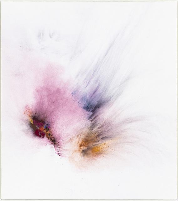 Thilo Heinzmann, 'O.T. ', 2017, Painting, Oil, pigment on canvas behind acrylic glass cover, Galería Heinrich Ehrhardt