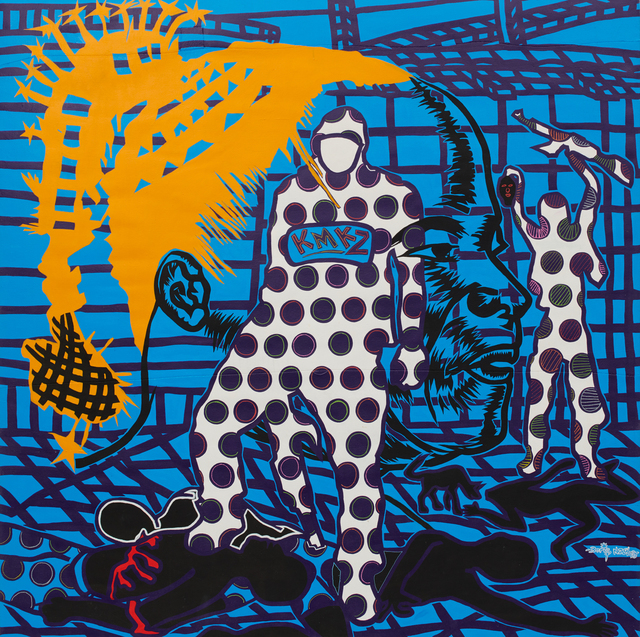 , 'Massacre 01,' 2018, Jack Bell Gallery