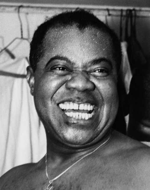 Weegee, 'Louis Armstrong', 1940-1949, Etherton Gallery