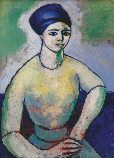 , 'Study of a Girl (Fanette Reider),' 1912, Montclair Art Museum