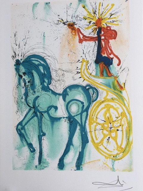 Salvador Dalí, 'Le cheval de triomphe', 1983, ByNewArt