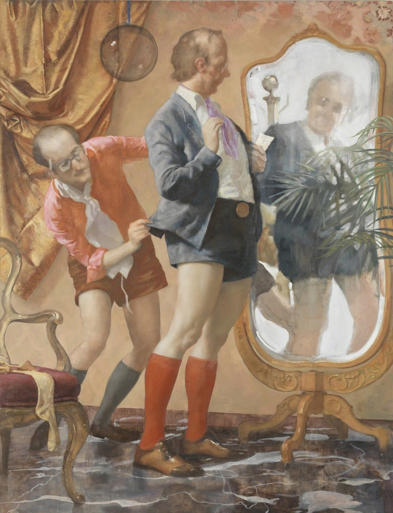John Currin, 'Hot Pants,' 2010, The Broad