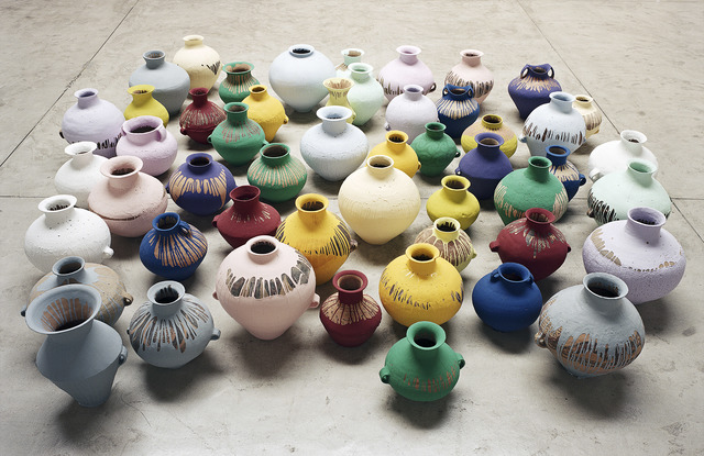 , 'Coloured Vases,' 2006, National Gallery of Victoria